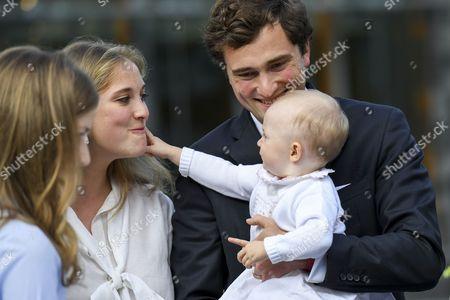 Princess Elisabeth, Prince Amedeo, Princess Anna Astrid, Elisabetta Rosbosch von Wolkenstein