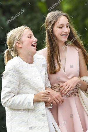 Princess Louise and Princess Luisa Maria