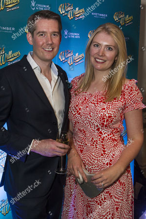 Stock Image of Jamie Hendry (Producer) and Annaliese Hendry