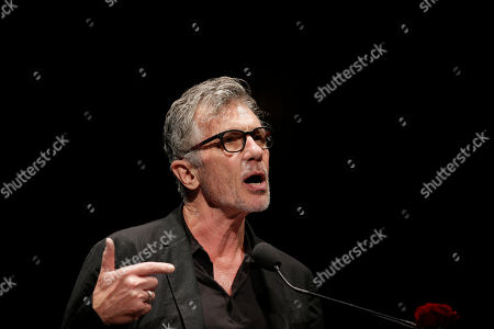 U.S. writer Michael Cunningham, Pulitzer Prize-winning author of The Hours and By Nightfall, attends 'La Milanesiana' cultural event, in Milan, Italy
