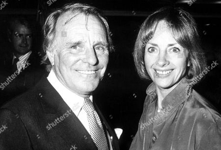 DICKIE HENDERSON WITH HIS WIFE