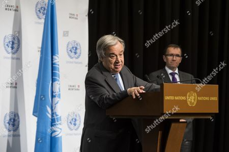 Antonio Guterres and Espen Barth Eide