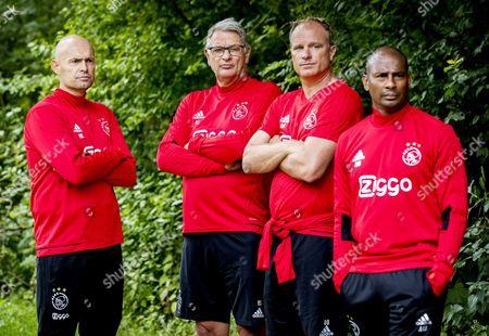Marcel Keizer, Hennie Spijkerman and Dennis Bergkamp