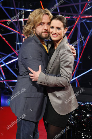 Justin Lee Collins and Kirsty Gallacher