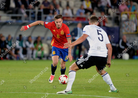 Editorial photo of Germany U21 v Spain U21, UEFA European Under 21 Championship, International Football, Cracow, Poland - 30 Jun 2017