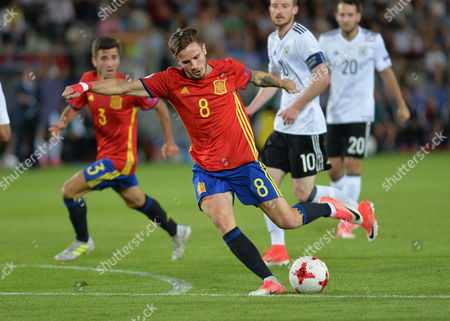 Editorial image of Germany U21 v Spain U21, UEFA European Under 21 Championship, International Football, Cracow, Poland - 30 Jun 2017