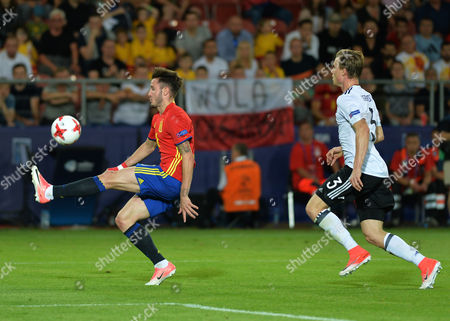 Editorial picture of Germany U21 v Spain U21, UEFA European Under 21 Championship, International Football, Cracow, Poland - 30 Jun 2017