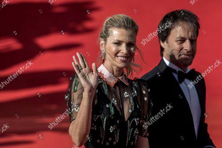 Stock Photo of Daniela Pestova and Pavol Habera