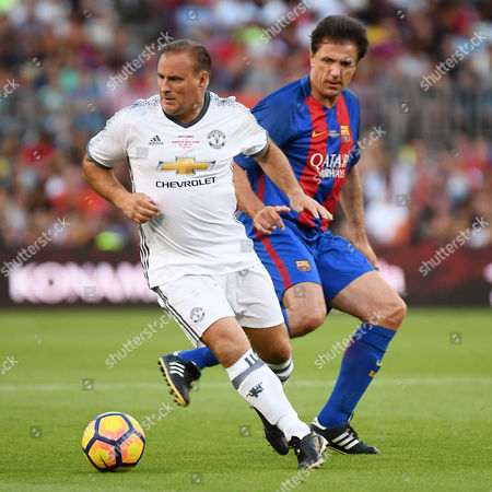 Editorial picture of Barcelona, Manchester United (Legends), Camp Nou Stadium, Barcelonaa, Spain - 30 June 2017