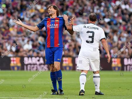 Editorial image of Barcelona, Manchester United (Legends), Camp Nou Stadium, Barcelonaa, Spain - 30 June 2017