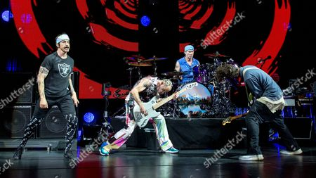 Red Hot Chili Peppers - Anthony Kiedis, Flea, Chad Smith and Josh Klinghoffer