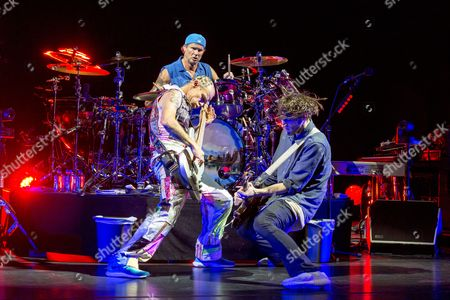 Red Hot Chili Peppers - Flea, Chad Smith and Josh Klinghoffer
