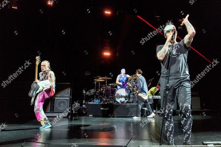 Red Hot Chili Peppers - Flea, Chad Smith, Josh Klinghoffer and Anthony Kiedis