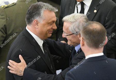 Viktor Orban and Jean-Claude Trichet