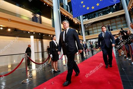 Editorial photo of European Ceremony of Honour for late former German chancellor Helmut Kohl, Strasbourg, France - 01 Jul 2017