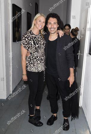 Natasha Bulstrode and Boris Entrup