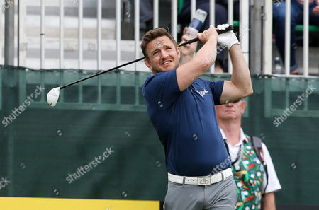 Rory Lawson at the Celebrity Cup at the Celtic Manor, Newport, South Wales.