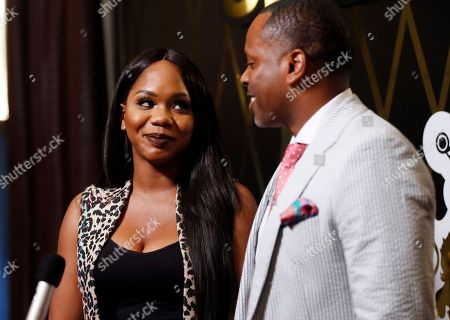 Sarah Jake Roberts, Toure Roberts Sarah Jakes Roberts and Toure Roberts are seen during Bishop TD Jakes' surprise 60th birthday party, in Dallas
