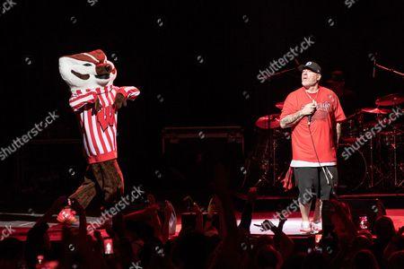 House of Pain - University of Wisconsin Mascot Bucky Badger and Everlast (Erik Schrody)