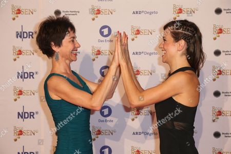 Editorial photo of 2,500 episodes of Rote Rosen (red Roses) soap event, Lueneburg, Germany - 01 Jul 2017