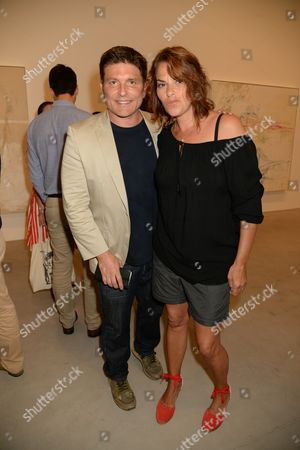 Kenny Goss and Tracey Emin