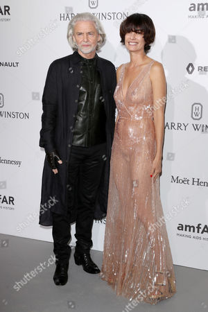 Editorial photo of amfAR Gala, Arrivals, Haute Couture Fashion Week, Paris, France - 02 Jul 2017