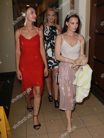 Rachel Pitman Miss Hertfordshire Age 23, Zoe-Lea Dale Miss Manchester Age 22, Cheraleigh Van Zanten Miss Hippodrome Age 20