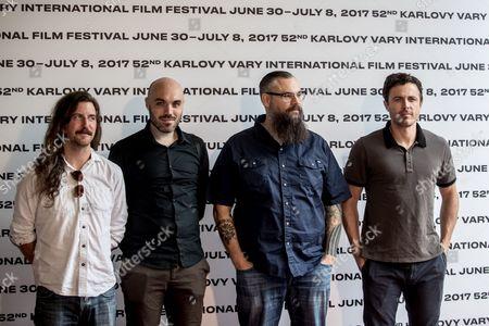 Casey Affleck, David Lowery and Toby Halbrooks