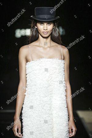 Editorial picture of Gema Sach show, Runway, 080 Barcelona Fashion Week, Spain - 28 Jun 2017