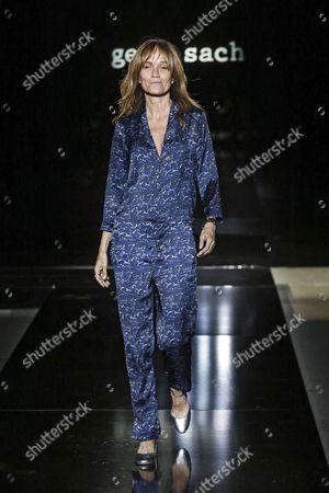 Editorial photo of Gema Sach show, Runway, 080 Barcelona Fashion Week, Spain - 28 Jun 2017