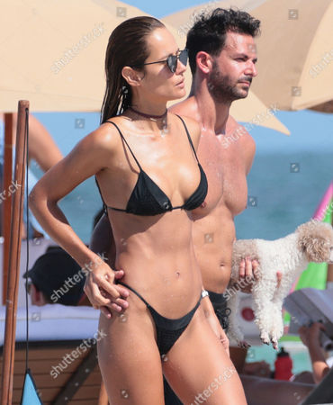 Editorial photo of Natalia Borges out and about, Miami Beach, Florida, USA - 02 Jul 2017