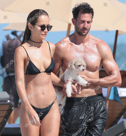 Editorial image of Natalia Borges out and about, Miami Beach, Florida, USA - 02 Jul 2017
