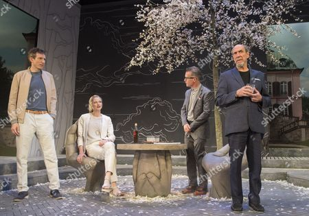 Daniel Weyman as Martin, Naomi Frederick as Gina, Jonathan Cullen as Erwin, F Murray Abraham as Benjamin