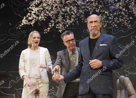 Naomi Frederick as Gina, Jonathan Cullen as Erwin, F Murray Abraham as Benjamin