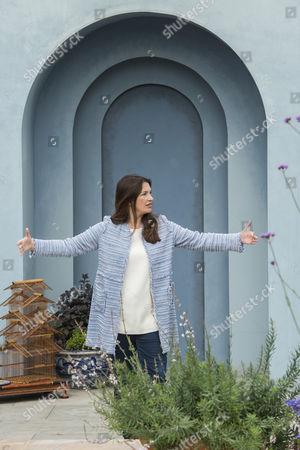 Rachel De Thame on the Viking World cruises Garden by Paul Hervey-Brookes