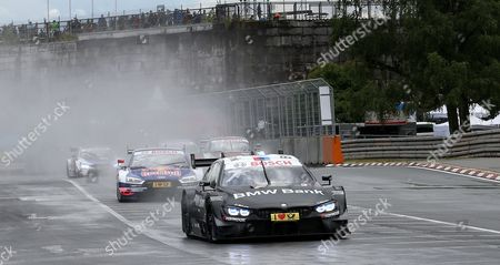 Rennstart: Bruno Spengler (CDN#7) BMW Team RBM, BMW Bank M4 DTM , Mattias Ekstroem (SWE#5) Audi Sport Team Abt Sportsline, Red Bull Audi RS 5 DTM , Rene Rast (DEU#33) Audi Sport Team Rosberg, Auto  Mogoalsport Audi RS 5 DTM, Maxime Martin (BEL#36) BMW Team RBM, Samsung BMW M4 DTM