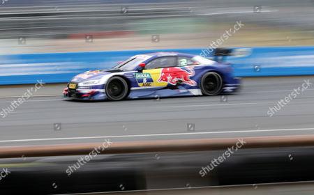 Mattias Ekstroem (SWE#5) Audi Sport Team Abt Sportsline, Red Bull Audi RS 5 DTM