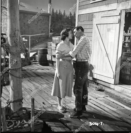 """Editorial photo of """"High Tide At Noon"""" Film - 1957"""