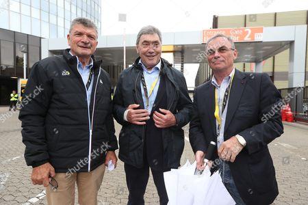 Bernard Thevenet, Eddy Merckx, Bernard Hinault
