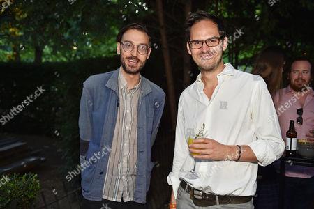 Igor Toronyi-Lalic and Tom Fleming