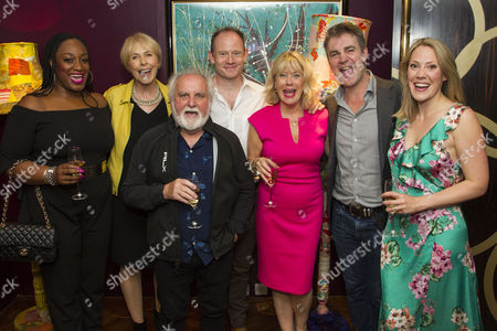 Editorial photo of 'Committee... (A New Musical)' musical, After Party, London, UK - 03 Jul 2017