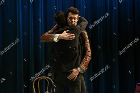 Toby Schmitz (Willmore) and Nathan Lovejoy (Don Antonio / Frederick) perform a scene