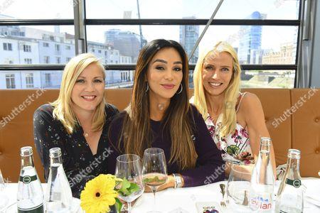 Aleksandra Bechtel, Verona Pooth and Dr. Birte Prange