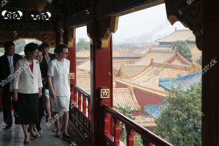 Princess Anne and Liu Yandong