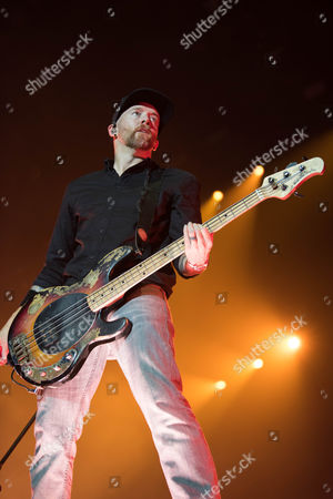 Editorial image of Linkin Park in concert, O2 Arena, London, UK - 03 Jul 2017