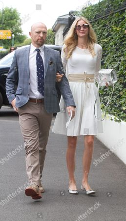 Matt Dawson and his wife Carolin Hauskeller