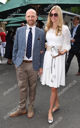 Matt Dawson and his wife Carolin Dawson