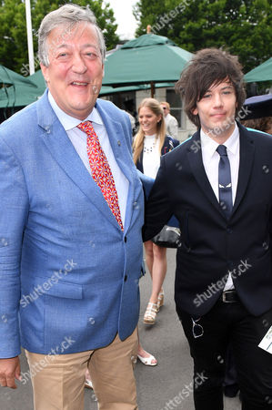 Stephen Fry with Elliot Spencer
