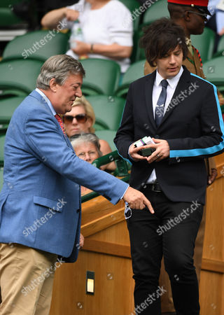 Stephen Fry and Elliot Spencer in the Royal Box