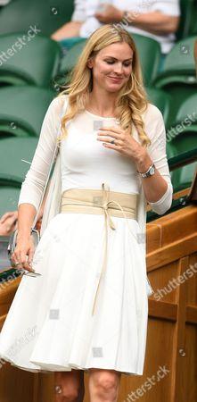 Carolin Dawson (wife of Matt Dawson) in the Royal Box